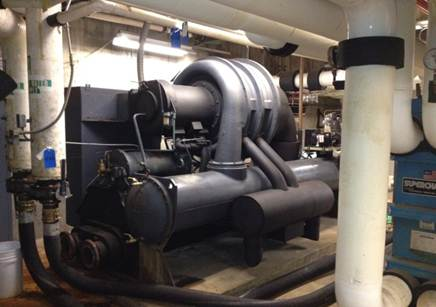 Chiller Replacement Project by RJI Sales, Inc.